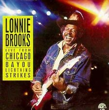 Live From Chicago-Bayou Lightn - Brooks,Lonnie (1988, CD NEUF)