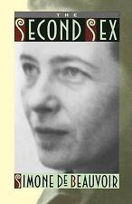 The Second Sex by Simone de Beauvoir (Paperback, 1991)
