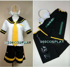 VOCALOID 2 Len Kagamine COSPLAY COSTUME CUSTOM-MADE
