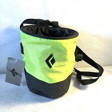 Nwt Black Diamond Bright Green Mojo Chalk Bag S/M