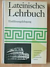 DDR Lehrbuch Latein Einführung Kurs Texte Vokabeln Übungen Grammatikteil