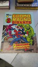 L'UOMO RAGNO GIGANTE n. 78, Il demone devastatore, Corno, dicembre 1982, OTTIMO!