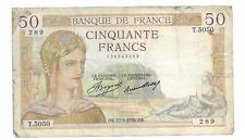 50 francs CERES
