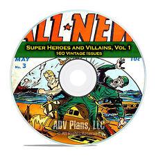 Super Hero, Villains, Vol 1, America's Best Comics, Golden Age Comics DVD D66