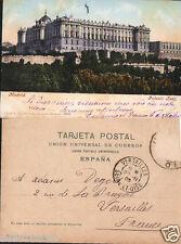 ANTIGUA POSTAL DE MADRID PURGER PALACIO REAL POSTCARD POSTKARTE          CC00555