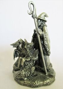 Myth & Magic Wizard Figurine 'The Choristers'. Christmas 2002 Special Issue
