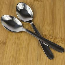 Conjunto de 12 cucharaditas de acero inoxidable 13cm de plata de Té Café Bebidas sólido cutlery