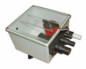 Johnson Shower Waste Water Drain System. 12v Model 10-1202