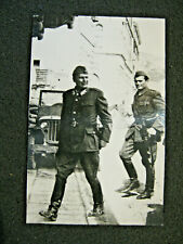 Ww2 Era Press Photo: Tito [Josip Broz Tito] Yugoslavia. Resistance Fighter