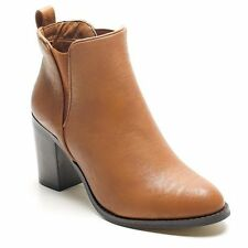 Unbranded 100% Leather Slingback Heels for Women