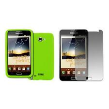 EMPIRE Samsung Galaxy Note I9220 Neon Green Silicone Skin Case Cover + Screen Pr