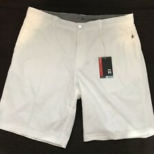 Tiger Woods Men's Nike Golf Practice Shorts White 726226 100 NWT $95 Size 38