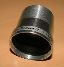 KOWA SUPER PROMINAR 38mm LENS FOR BELL & HOWELL 16mm PROJECTOR GREAT CONDITION A