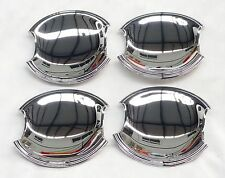 HONDA CIVIC CHROME DOOR HANDLE COVERS SCRATCH PADS 2006 ONWARDS 4PCS