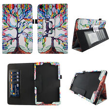 Tree Pattern Fit for NuVision 8 Inch Tablet Case Cover ID Slot
