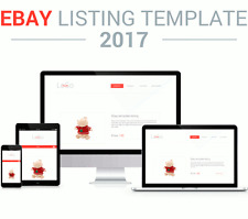 Ebay Template Listing 2017 Responsive Vorlage Ebayvorlage HTML Websites Auction