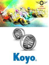 Genuine Koyo Kawasaki VN750 Vulcan Steering Head Stock Tapered Bearings 86-06