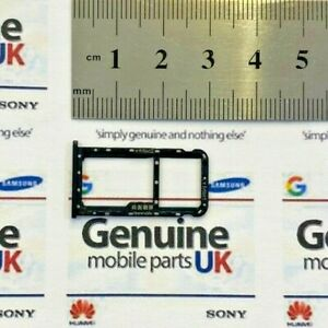 GENUINE HUAWEI MATE 10 LITE RNE-L01  RNE-L21 BLACK SIM & SD CARD TRAY 51661GMM