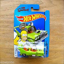 2014 Hot Wheels THE HOMER The Simpsons 89/250 HW CITY TOONED diecast Mattel INTL