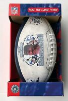 EMMITT SMITH THE DALLAS COWBOYS NFL ALL-TIME RUSHING LEADER COLLECTIBLE FOOTBALL