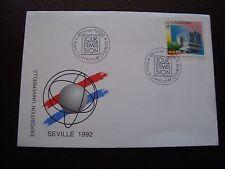 LUXEMBOURG - enveloppe 1er jour 18/5/1992 (B3)
