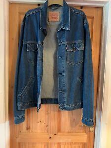 Men's Levi Strauss & Co Denim Jacket Size XXL
