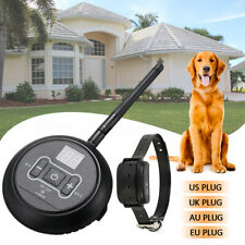 Wireless Electric Dog Pet Fence Containment System Transmitter Collar  ~