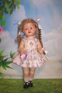 "Easter Dress for 22"" Saucy Walker Dolls -  DRESS ONLY"