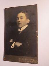 Halberstadt - 1908 - Helmut Neubarth als Mann  - Portrait / CDV