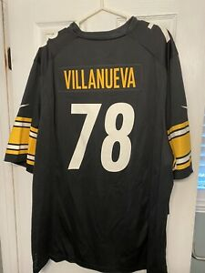 Alejandro Villanueva Jersey Nike On-Field NWT Size 3XL Pittsburgh Steelers