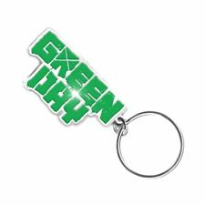 More details for green day logo metal keyring keychain - rock music memrobilia