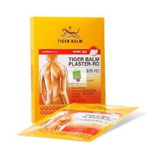 Tiger Balm Medicated Patch Plaster Warm Pain Relieve Size 10x14 cm 2 Sheets