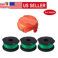 FYL Pack of 2 Black /& Decker Trimmer Cap Replacement Spool Cover 90514754-00