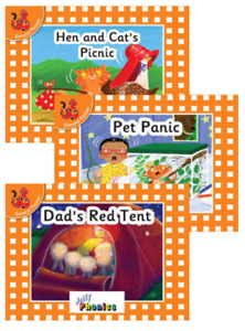 Early Years and Primary Decodable First Reader Books (Set 2)