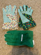 (3) Gardening Gloves