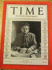 TIME MAGAZINE AUG 16, 1937 COLOR COCA-COLA AD,