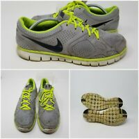 Nike Flex 2012 Green Athletic Running Tennis Shoes Sneaker Men's Size 11.5