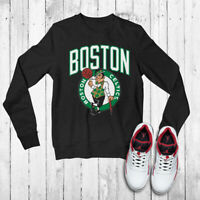 Boston Celtics Unisex Basketball Apparel Larry Bird PH278 Black Jumper