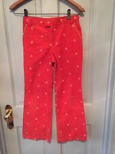 lilly pulitzer girls 10 Pants Pumpkins Orange Holy Grail