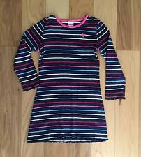 EUC GYMBOREE NEW YORK GIRL BLUE STRIPED PLAY DAY DRESS 5 5T