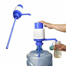 5 gallon bottled drinking water heavy duty hand press manual pump dispenser