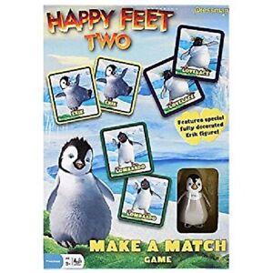HAPPY FEET TWO Make a Match Card Memory Game Kids Family Fun Gift