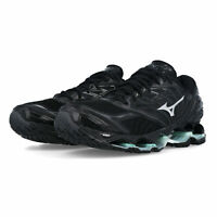 Mizuno Womens Wave Prophecy 8 Running Shoes Trainers Sneakers - Black Sports