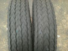 TWO 7x14.5, 7-14.5 Low Boy,RV,Camper,Utility 12 ply Tubeless Trailer Tires