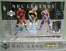 2000-01 UPPER DECK NHL LEGENDS Factory-Sealed HOBBY Box - Autos and Jerseys