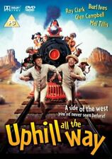 Uphill All the Way DVD (2005) Roy Clark, Dobbs (DIR) cert PG Fast and FREE P & P