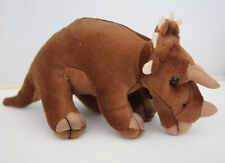 Dinosaur - Cuddly TRICERATOPS 12cm tall   NEW with tags