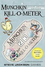 MUNCHKIN KILL O METER GUEST ARTIST GAME BRAND NEW & SEALED CHEAP!!
