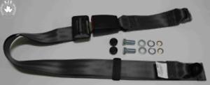Static Lap Belt For VW Beetle, 412,1600, K 70, Golf I up To 79, 30cmBAND Gray