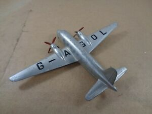 Dinky Toys no.70C Viking Aircraft In Silver , Vintage Diecast